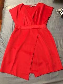 ASOS faux wrap dress size 14 #3x100