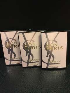 *Free by post* YSL Perfume samples x 3pcs