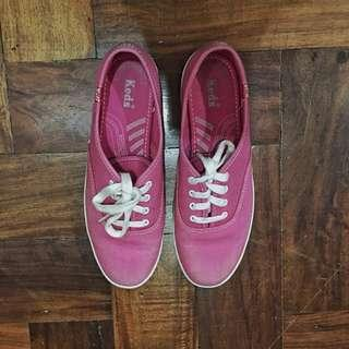 Keds Pink Sneakers with extra strap