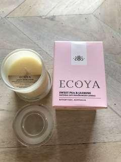 Ecoya Sweet Pea & Jasmine 50gm Mini Candle