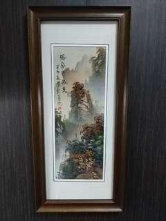 Chinese sandstone painting