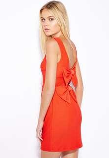 (3 for RM150) Miss Selfridge Bow Back Dress #3x100