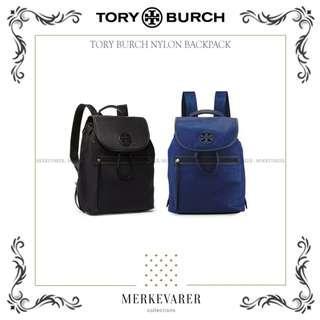 TB Tory Burch Slouchy Nylon Backpack