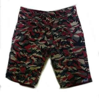 2 Way Reversible Shorts Camouflage For men