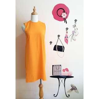 DOROTHY PERKINS Orange Shift Dress #3×100