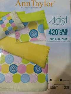 King saiz bed sheet Ann taylor