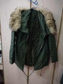 Winter Jacket army green
