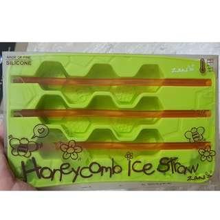 Honeycomb Ice Straw