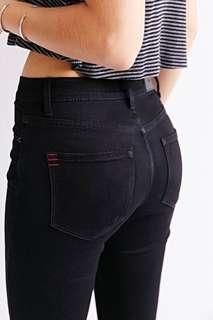 URBAN OUTFITTERS Black Skinny Jeans