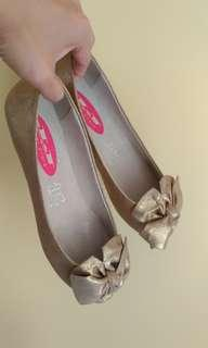 André leather flats size 37