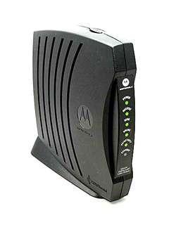 Motorola Cable Modem SBV5120 router for desktop computer