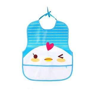 Cute Soft Waterproof Baby Bib (Chick Design)