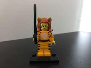 Lego series 14 Tiger Woman minifigure minifig costume