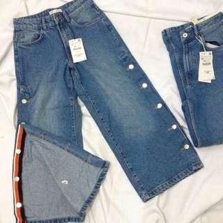 Zara Tear away denims