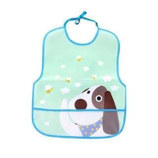 Cute Soft Waterproof Baby Bib (Dog Design)