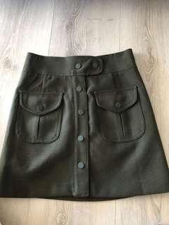 🔥Military style skirt