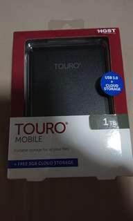 Touro external hard disk 1TB