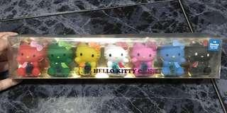 Colorful Hello kitty set of 7