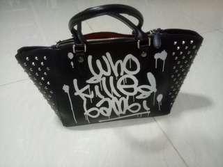 handbag kondisi 95% bahan kuat