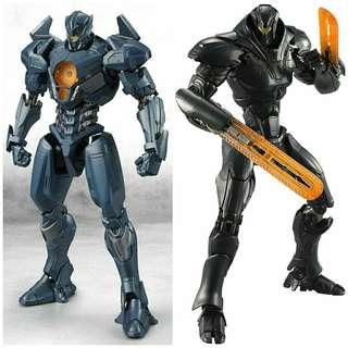 Tamashii Nations Bandai Robot Spirits Gipsy Avenger & Obsidian Fury Pacific Rim: Uprising Action Figures S.H.Figuarts