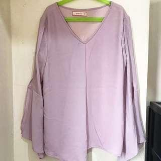 REPRICED pink casual longsleeves