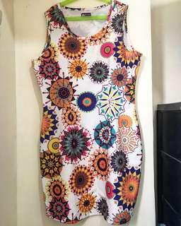 REPRICED tribal dress