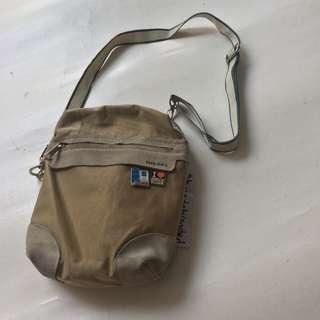 DIESEL spare parts shoulder bag