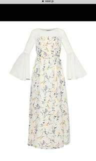 Zalia floral dress