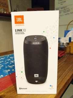 JBL Harman Link 10 bluetooth speaker and google assistant