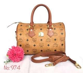 AUTHENTIC MCM SPEEDY B HANDBAG