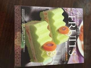 Cooked book -baking with fruits