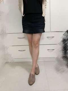 黑色牛仔短裙褲🖤Black jeans culotte