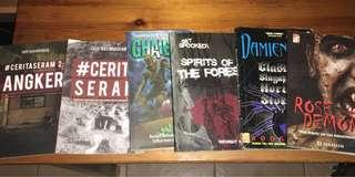 Novel Seram / ghost stories