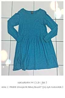 Baby doll dress hijau Cosmic Girl