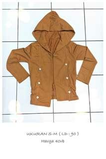 Outer bs jd jaket mustard
