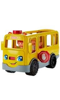 BN Fisher Price Little People Sit with Me School Bus Vehicle