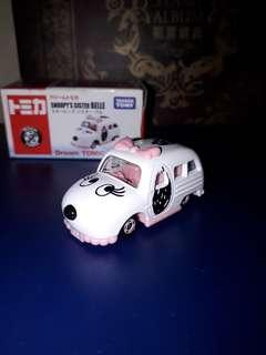 Tomica Snoopy's Sister Belle