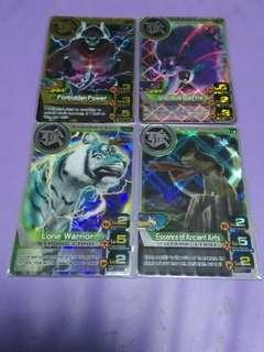 Animal Kaiser Strong Cards