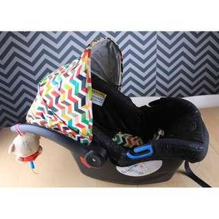 Sweet Cherry CS28 3 in 1 Cradle + Car Seat + Carrier for Birth to 13kg