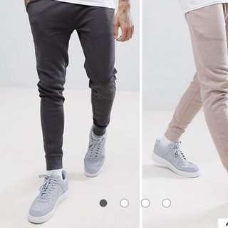 Asos super skinny jogger pants