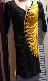 Black&Yellow Dress