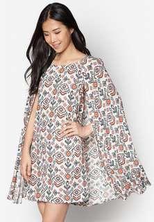 Zalora cape dress