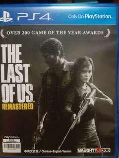 PS4 the last of us 中文
