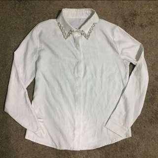 White Formal Longsleeves