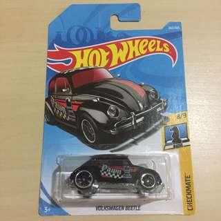 Hot Wheels 262/365 Checkmate 8/9 Volkswagen Beetle Black