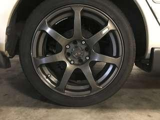Used Tyre and Rims For sales