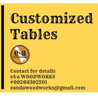 Customized Table/ Study Table