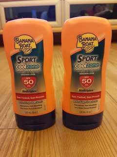 Banana Boat Sunscreen Lotion SPF 50 #sales #3×100