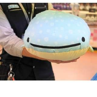 LAST PC - NEW JIN BEI SAN - WHALE - COOLING TYPE PLUSH HUGE - JAPAN