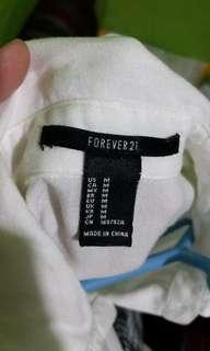 Authentic forever 21 polo
